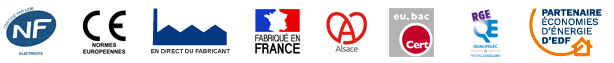 Normes - Labels - Certifications - Chauffage Aterno