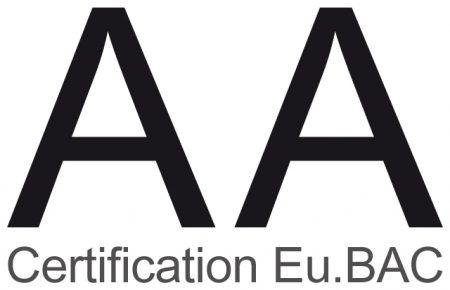 certification eubac - aterno classe aa