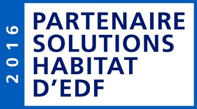 Logo Solutions Habitat d'EDF.
